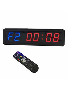 1.8'' Led Interval Workout Timer Countdown Stopwatch by Btb Sign