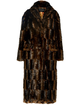 Faux Fur Coat by Etro