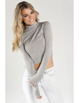 Sailor And Saint Boutique Mindy Crop Turtleneck L Revolve by Sailor And Saint