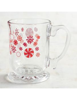 Peppermint Glass Mug by Pier1 Imports