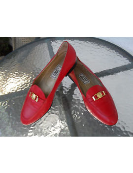 Rare Vintage Gianni Versace  Medusa Head Logo Loafer Size 38,5   8 Us by Gianni Versace