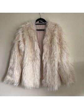 Nwt Revolve Minkpink Ott Luxe Fur Jacket Coat by Minkpink