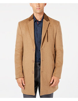 Men's Long Overcoat, Created For Macy's by Ryan Seacrest Distinction