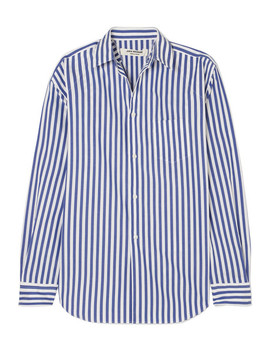 Striped Poplin Shirt by Junya Watanabe