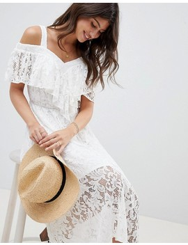 Asos Design Lace Midi Sundress by Asos Design