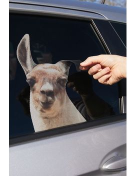 Llama Car Decal by Urban Outfitters