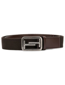 Leather Trim Belt by Tod's