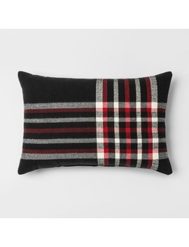 plaid-lumbar-throw-pillow-black_red---threshold by shop-collections