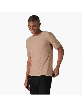Naadam Contour Liquid Silk Cashmere T Shirt by J.Crew