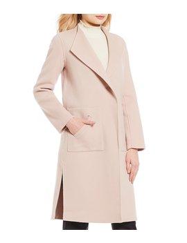 Spread Collar Slim Coat by Antonio Melani