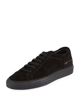 Original Achilles Low Top Suede Sneakers by Common Projects