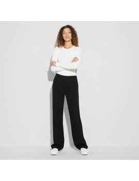Nwt $295 Shopbop Black Theory Mott Crepe Pull On Pants Size Large L by Theory