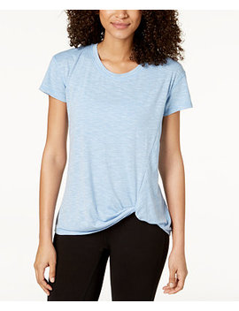Knot Front T Shirt, Created For Macy's by Ideology