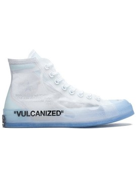 Converse X Off White Chuck 70 Hi Top Sneakers by Off White