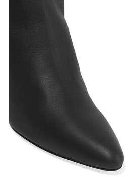 Salome Leather Knee Boots by Laurence Dacade