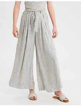 Ae Tie Front Pleated Pant by American Eagle Outfitters