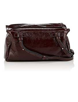 Pandora Pepe Mini Patent Leather Messenger Bag by Givenchy