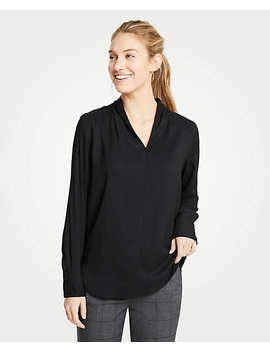 Shawl Collar Blouse by Ann Taylor