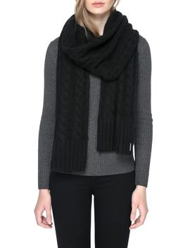Cable Knit Scarf by Soia & Kyo