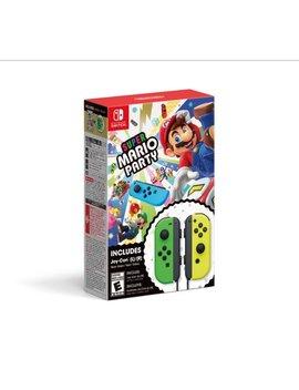 Nintendo Switch, Super Mario Party + Joy Con (L/R) Green / Yellow, Hacradfja by Nintendo