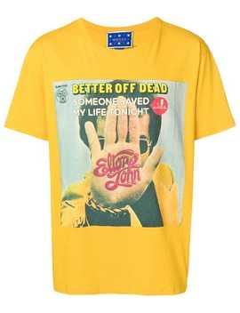 Elton John Print T Shirt by Gucci