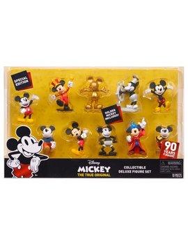 Mickey's 90th Anniversary Deluxe Figure Set   10 Piece Figure Set by Mickey's 90th