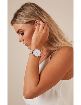 Tick Tock Watch In Rose Gold by Showpo Fashion