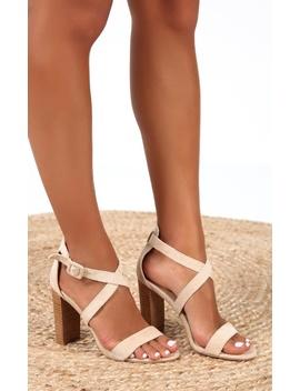 Showpo X Billini   Jaxon Heels In Nude Micro by Showpo Fashion