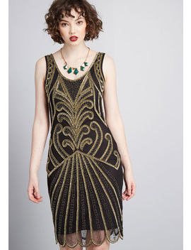 Opulent Request Beaded Dress by Modcloth