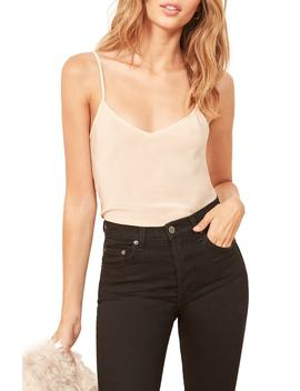 Beth Silk Camisole by Reformation
