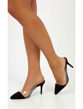 Billini   Tavira Heels In Black Micro by Showpo Fashion