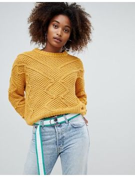 Pull&Bear Pom Pom Detail Sweater by Pull&Bear