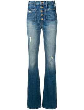The Patch Pocket Hustler Jeans by Mother