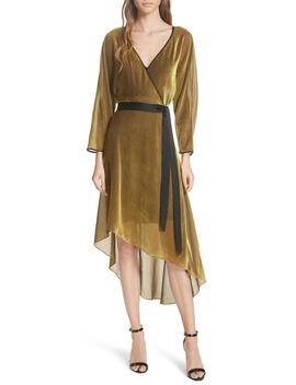 Eloise Asymmetrical Wrap Dress by Dvf