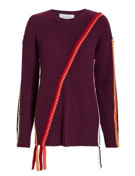 Braid Detail Sweater by Derek Lam 10 Crosby
