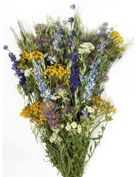 Dried Mountain Meadow Flower Bouquet | Flower Bouquet | Dried Flowers by Etsy