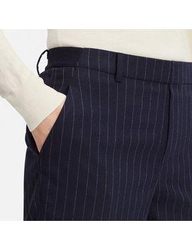 Women Ezy Ankle Length Pants (Flannel/Pin Stripe) by Uniqlo