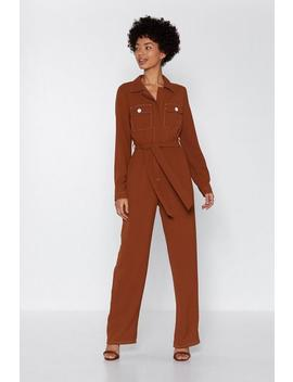 Such A Stitch Utility Jumpsuit by Nasty Gal