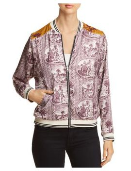 Reversible Printed Bomber Jacket by Scotch & Soda
