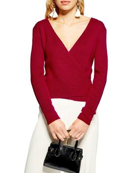 Ballet Rib Sweater by Topshop