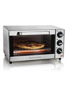 Hamilton Beach 31401 Stainless Steel 4 Slice Toaster Oven Broiler by Hamilton Beach