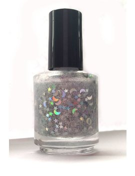 Starry Night   Handmade Nail Polish, 5 Free Polish, Star Polish, Glitter Polish, Holographic Polish, Indie Polish, Luxury Polish by Etsy