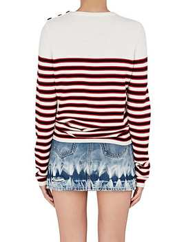 Striped Wool Sweater by Saint Laurent