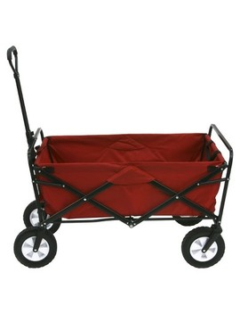 Mac Sports Folding Wagon   Red by Mac Sports