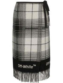 Check Blanket Skirt by Off White