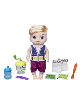 Baby Alive Sweet Spoonfuls Baby Doll Boy Blonde Hair by Baby Alive