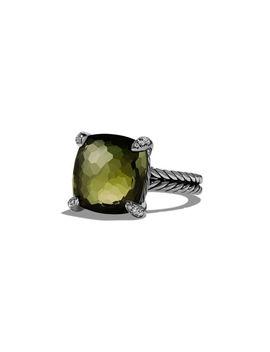 14mm Châtelaine Amethyst Ring by David Yurman