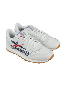 Reebok Classic Leather 3 Am Mens White Leather Athletic Training Shoes by Reebok