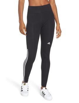 Stretch Cotton Leggings by Adidas
