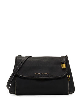 Boho Grind Pebbled Leather Crossbody Bag by Neiman Marcus
